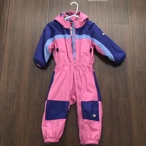 Columbia snowsuit size 3T